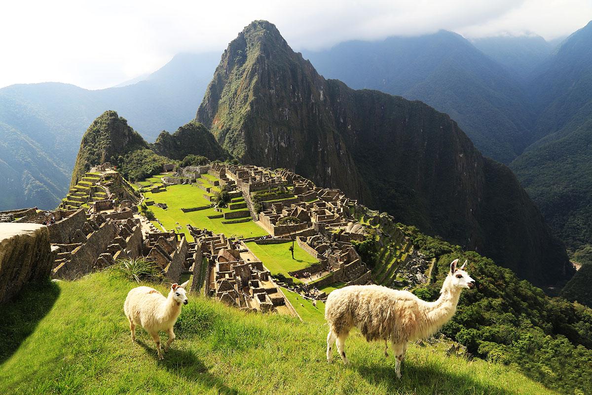 Machu Picchu - etta på listan över bästa sevärdheter 2016