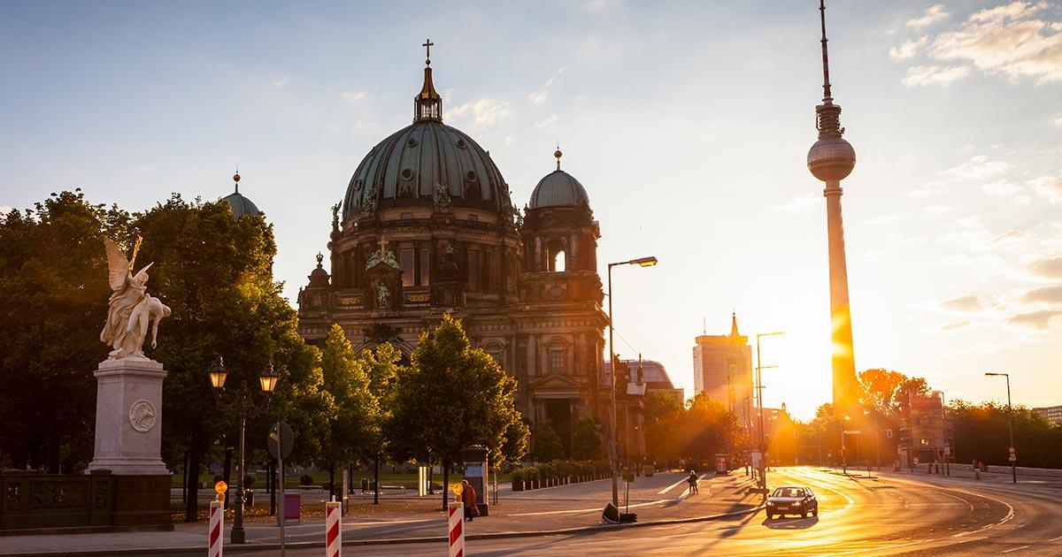 TV-tornet i Berlin - Berliner Fernsehturm