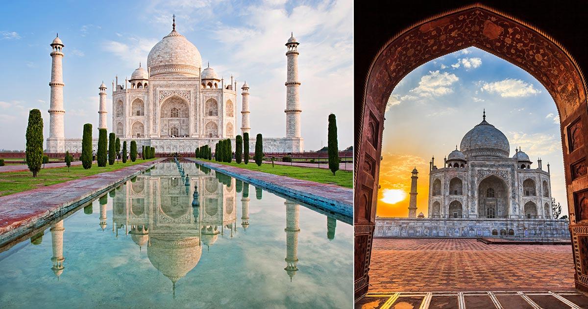 Taj Mahal - boka biljetter och guidade turer