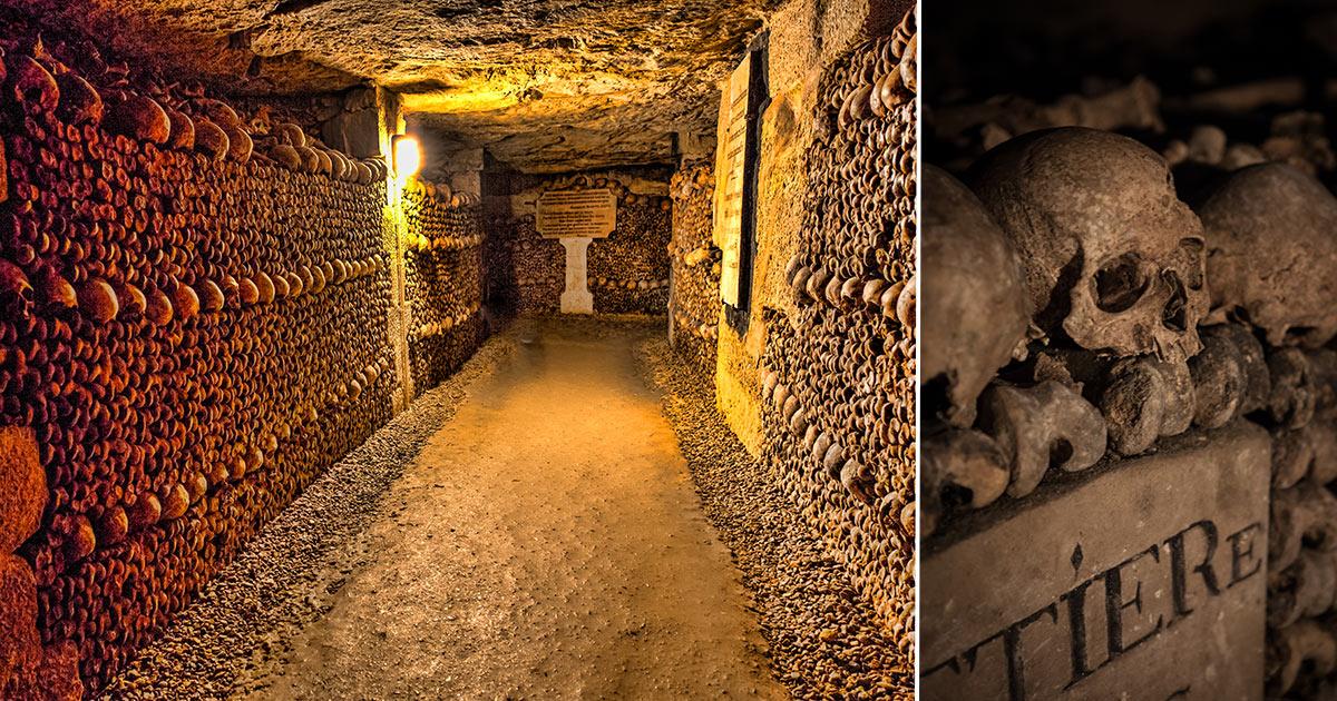 Paris katakomber - boka guidad tur