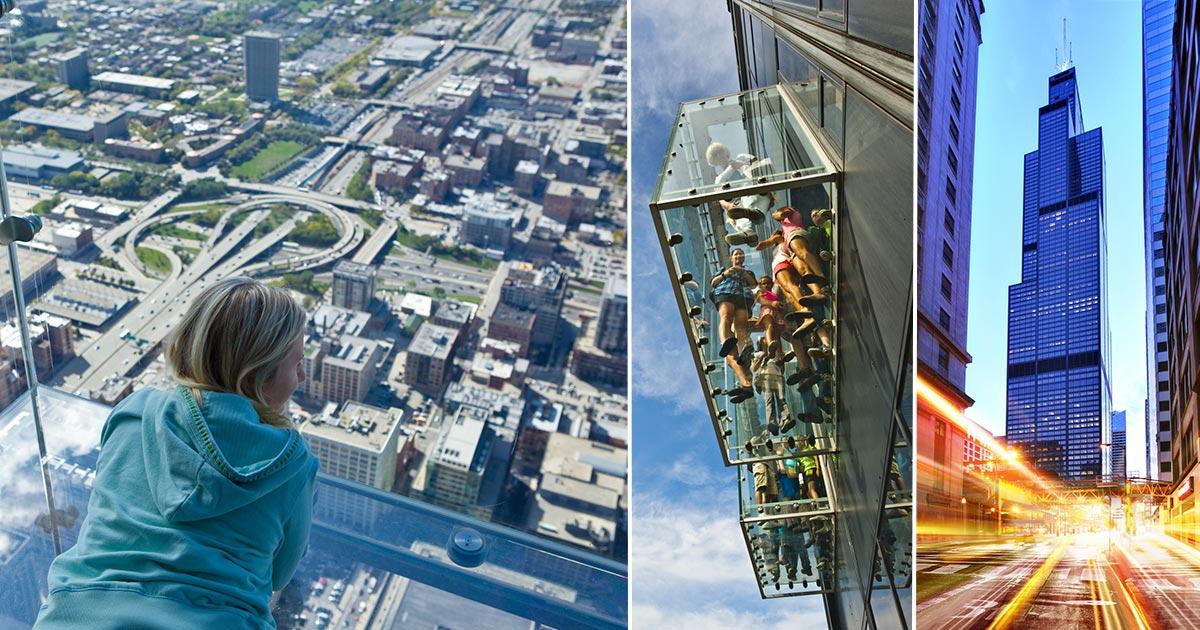 Willis Tower och Skydeck i Chicago - boka biljetter