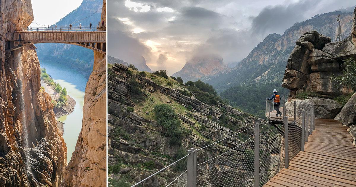 Caminito del Rey - boka guidade turer och biljett